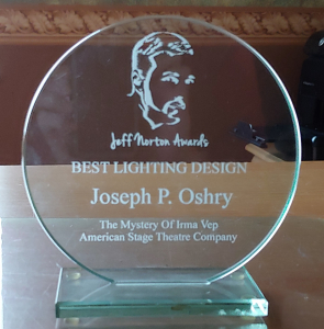 Mystery of Irma Vep - Jeff Norton Award (Theatre Tampa Bay) American Stage - 2011