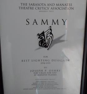 Crazy for You - Sammy Award 1998-1999